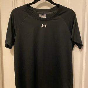 Loose Under Armour Heat Gear Workout Top